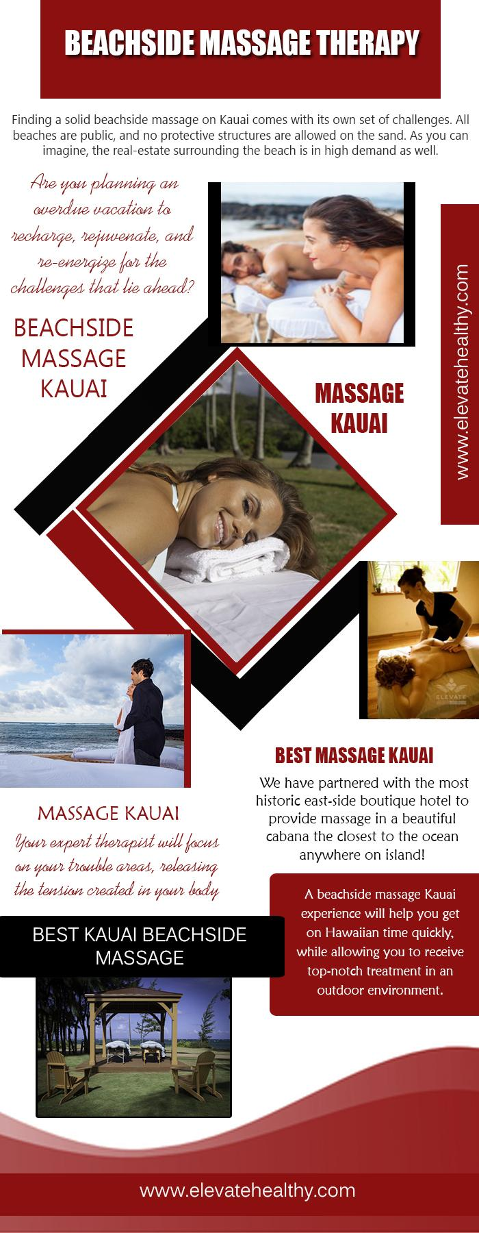 Best Kauai Beachside Massage