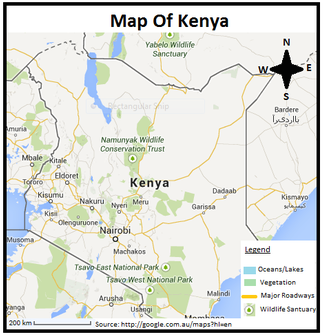 Food crisis in kenya by lauren m l infogram map of africa with kenya highlighted in green gumiabroncs Choice Image