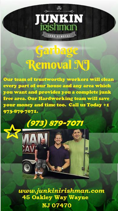 Garbage Removal NJ by Junkin Irishman - Infogram