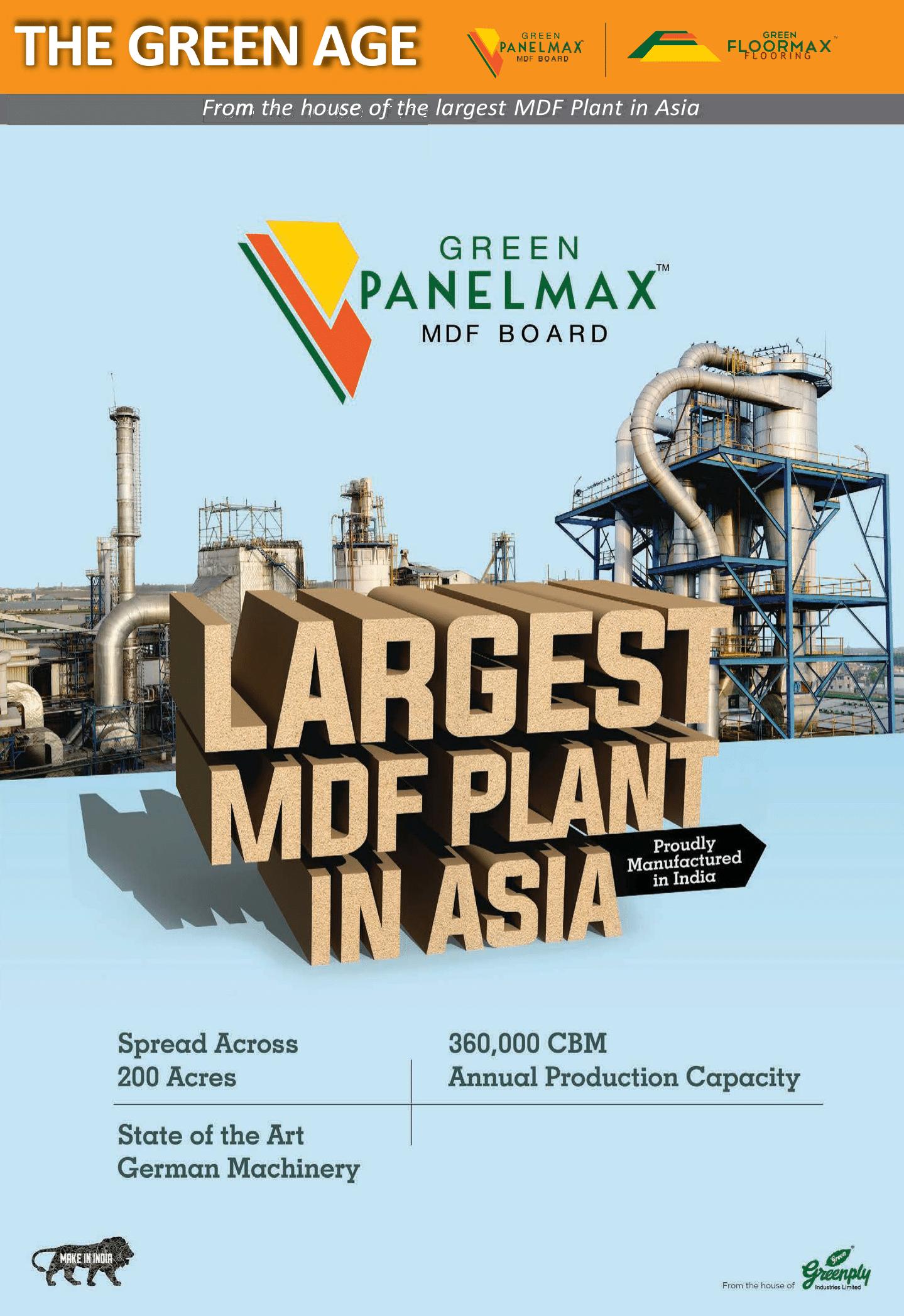 Shobhan Mittal: Greenply sets Medium Density Fibreboard