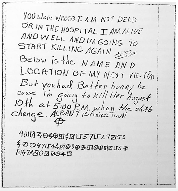 The Zodiac Killer by Bavishya Perera - Infogram