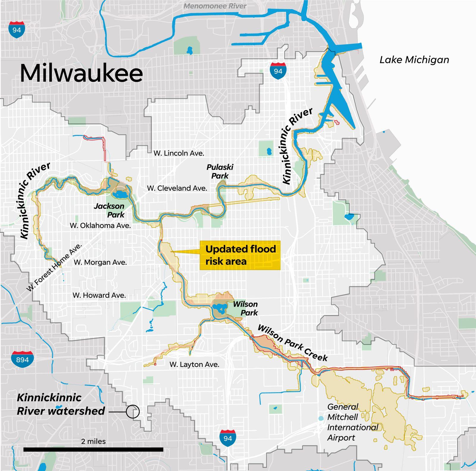 Milwaukee's 'forgotten river' poised for $390 million face lift on