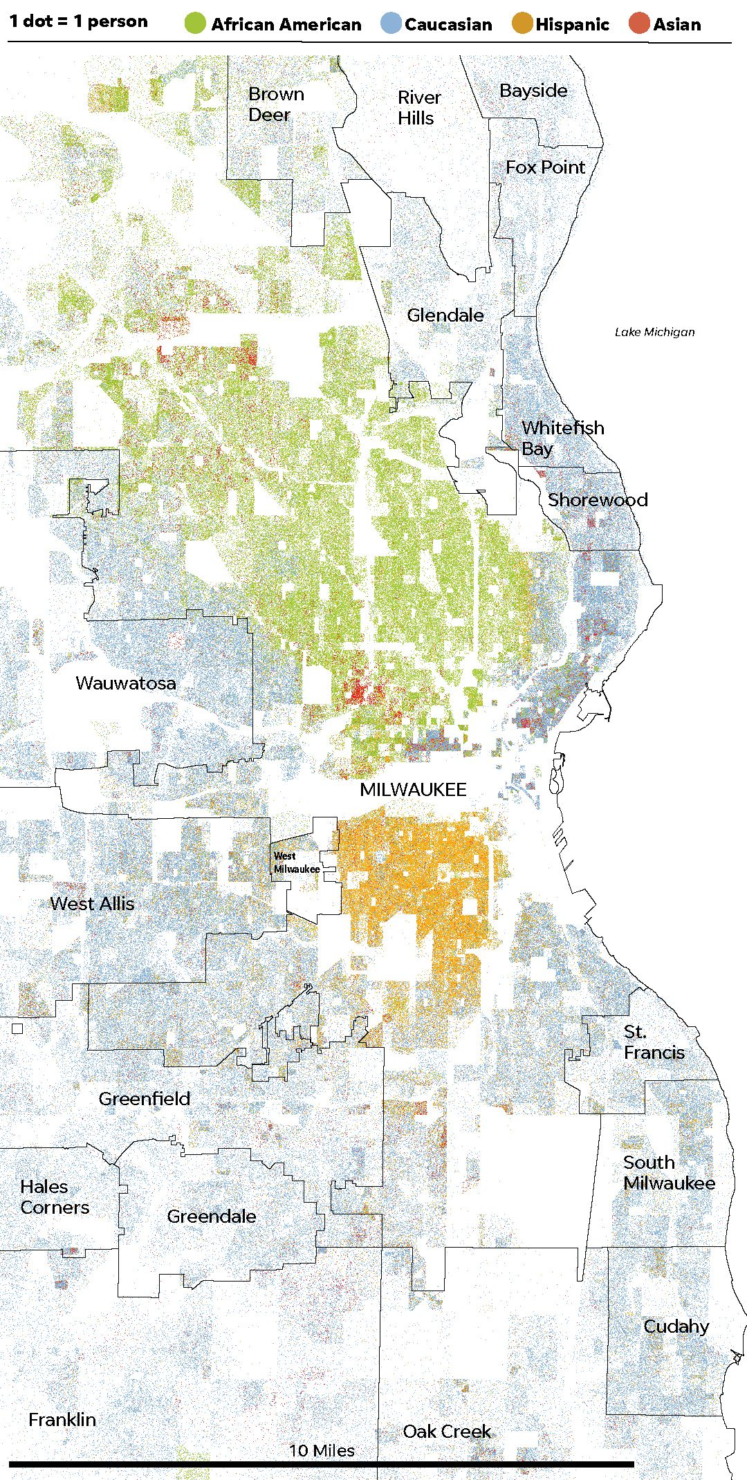 Milwaukee segregation: How we measure and define it