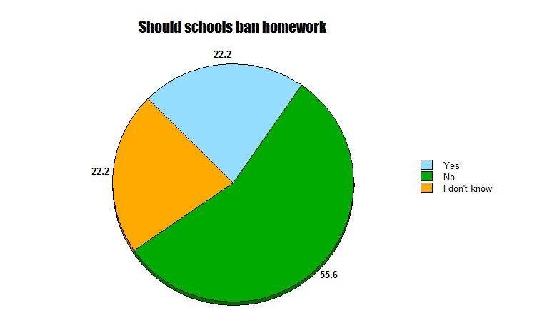 students should have more homework