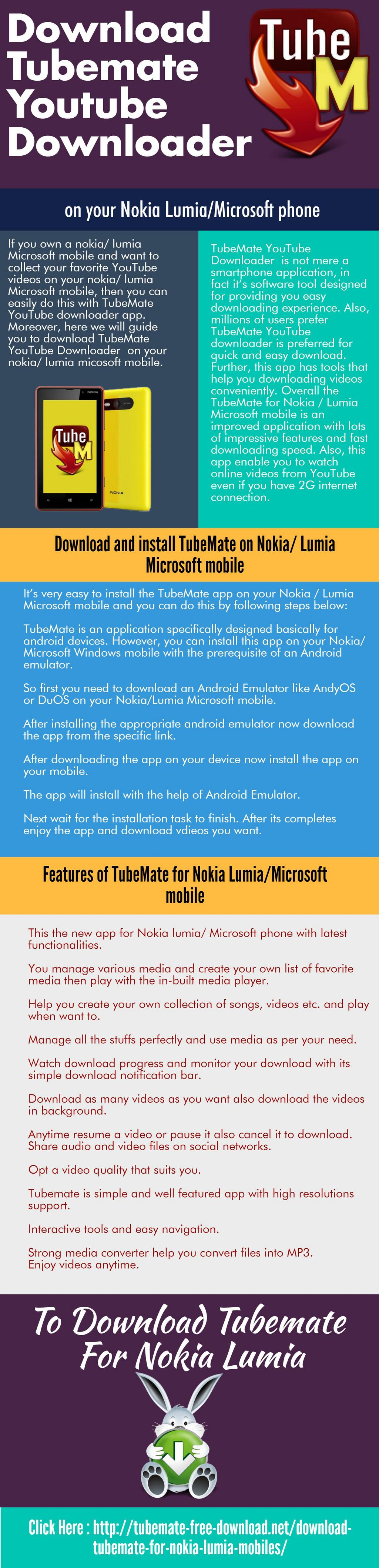 Download tubemate youtube downloader on your nokia lumiamicrosoft download tubemate youtube downloader on your nokia lumiamicrosoft phone ccuart Image collections