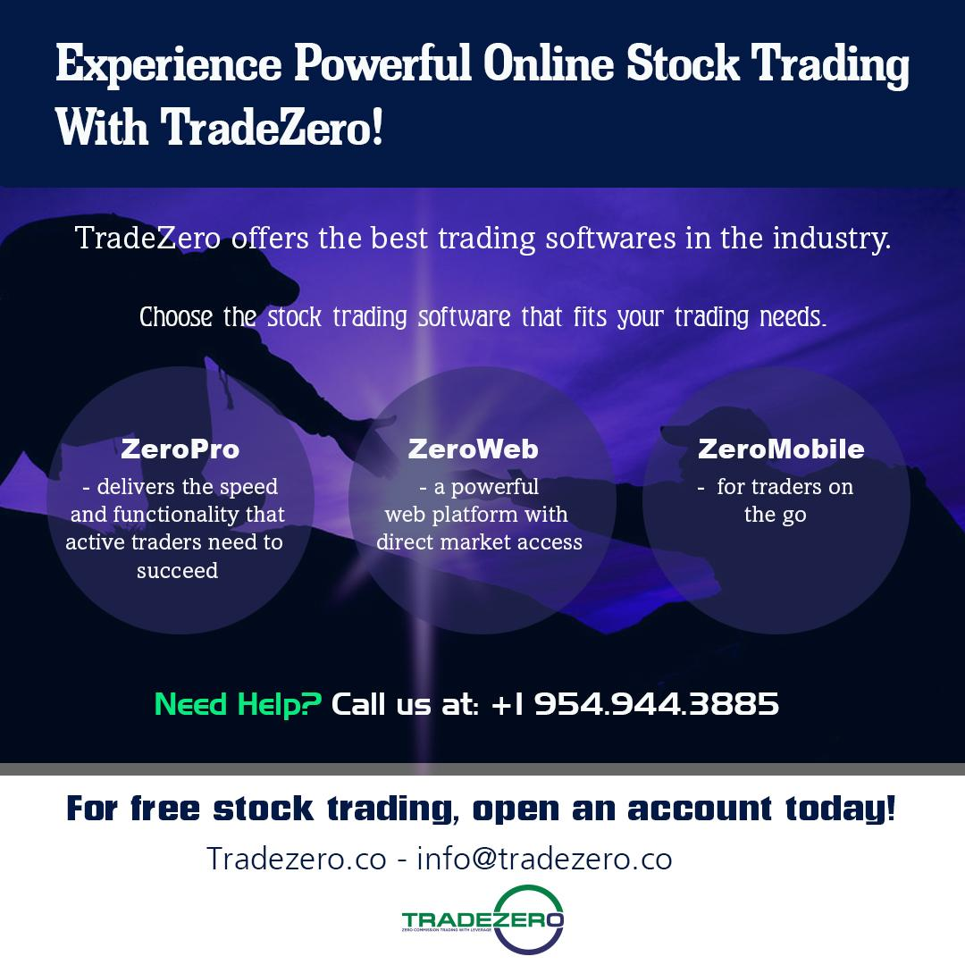 Experience powerful online stock trading with TradeZero  by